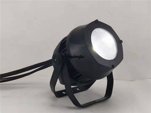 4pcs alumínio DJ Par RGBW 200w LED PAR64 DMX cob par IP65 Waterproof cob LED PAR Can Luzes