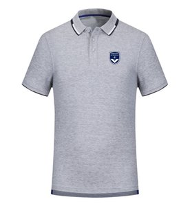 FC Girondins de Bordeaux spring and summer new cotton football polo shirt men's short sleeve lapel polo can be DIY custom men's Tees shirt