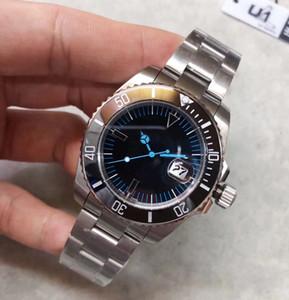 يو 1 مصنع 116610 BAMFORD Date Ceramic Bezel Sapphire Glass Asian 2813 Stainless Steel Jubille bracalet Clasp men Mechanical watch