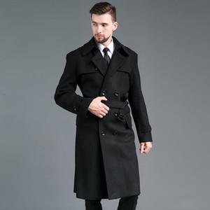 Spike Survey шерстяное пальто мужчины двубортные траншеи пальто с длинными рукавами пальто мужские кашемировые пальто Casaco Masculino Англия