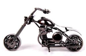 LP1029X5 miniaturas Los juguetes de metal decoración del hogar regalos de arte y artesanías modelo mini motocicleta del hierro de la mordaza Juguetes