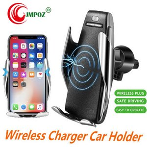 Intelligent Induction Wireless Fast Charge Car Bracket Automatic Air Outlet Kickstand Mobile Phone Universal Retail Package