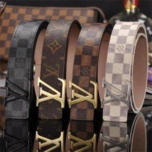2020, Art und Weise der Qualitäts-Echt Leathe rL Glatte Buckle Gürtel Männer Design-Gürtel neueste Art High Brand waistbands Freie 0055 Versand