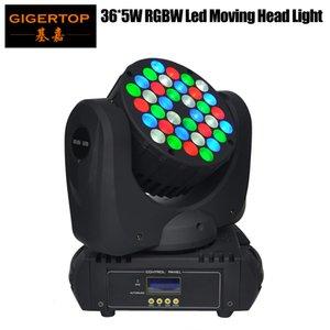 Fiyat 36x5W Led Işık 6 Derecesi 90V-240V Moving Head Işık 15Channel Beam'e Moving Head Işın Işık DMX512 Led Moving Sample