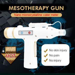 Microneedle Fractional face RF levantamento da pele remoção do enrugamento Meso Coreia do Gun agulha 220V portátil meso livre arma de injeção mesoterapia
