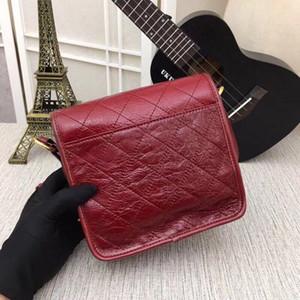 Designer-Broadband pequena bolsa feminina bolsa de mensageiro 2018 outono e inverno retro bolsas de couro macio coreano bolsa de ombro moda selvagem