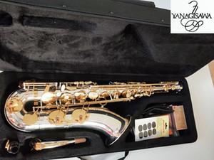 YANAGISAWA placcato in argento T-9937 sassofono tenore in oro Sax strumenti musicali con astuccio bocchino livello professionale lev professionale