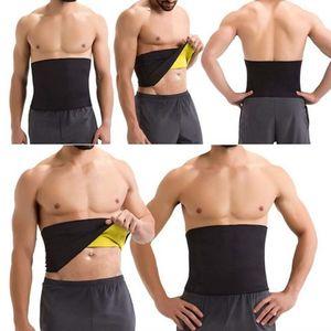 Mens Shapers Пояс для триммера для похудения Пояс для похудения Body Shaper Сжатие Регулируемый неопрен Тонкий живот Моделирующий ремень Корсеты