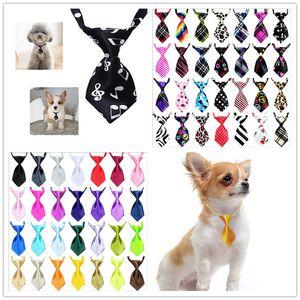 56 chat réglable couleur et chien cravate caresser l'arc animal robe chiot cravate accessoires pour animaux logo personnalisable