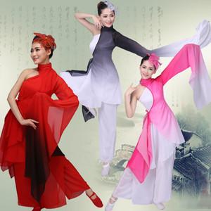 Mulheres Square Dance Costumes fantasia de fada Cosplay Hanfu Roupa Chinese Folk Dance Show Costumes Estágio WearDQS1637