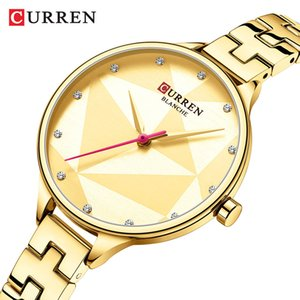 Classic Fashion Quartz Women Watches Creative Design Wristwatch Stainless Steel Female Clock Ladies Dress Bracelet Watch