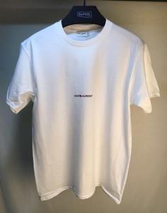 2020 새로운 패션 여름 남성 T 셔츠 티 셔츠 타이 문자 인쇄 여성 셔츠 의류 S-XL 탑