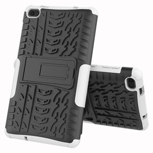Heavy Duty 2 in 1 Hybrid Rugged Case For Lenovo Tab E7 2018 Tablet Funda Cover For Lenovo 7104 TB-7104F 7 inch case