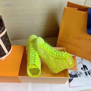 2020 nuovi uomini # 39s Velocità Sneakers Luxury Fashion Men # 39s Sneakers alta qualità poco costosa casuale pizzo cornice Dimensioni 35-45 mn02A1U1I