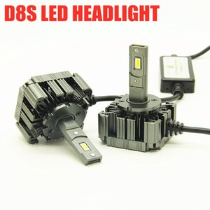 CANbus D8S светодиодный фонарь 55W комплект лампа D8S LED OEM