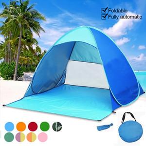 Automatico tenda da campeggio Ship Da Spiaggia Tenda 2 Persone Istantaneo Fino Aprire anti UV Tenda Tende Outdoor Sunshelter