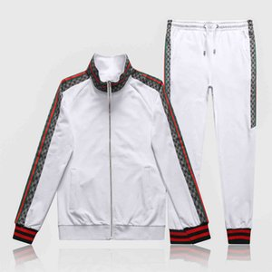 2020 Men Sportswear And Sweatshirts Autumn Winter Jogger Sets Sporting Suit Mens Long sleeve Sweat Suits Tracksuits Plus Size M-3XL