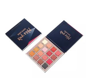 DROP ship Beauty Glazed Matte Eyeshadow Palette Long lasting Glitter Shimmer Matte Nude Pigment Waterproof Eye Shadow