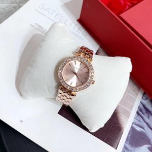 Womens watches MK watches Diamond watch Bracelet Watches For Women Rose Gold Rhinestone Clock Famous michael Women Fashion Watch