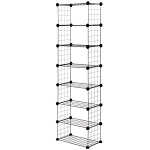 3 4 5 6 7 8 Tiers Simple Assembly Iron Mesh Dustproof Shoe Rack Storage Organizer Cover Cabinet Shelf for Home Dormitory Shoes Y200527