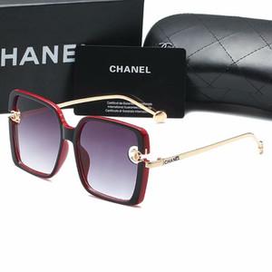Gafas de sol Lentes de sol de lujo para hombre Mujer Marca Modelo huang001 alta calidad