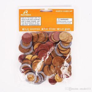 Spielgeld Euro-Münzen SET 80 Kunststoff EURO MÜNZEN NEW Mathematik Schule Lernen Resourc 1/2/5/10/20/50 Cent Euro 02.01