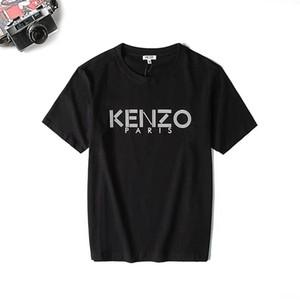 2020ss la cabeza del tigre nueva llegada KenZ0 para mujer para hombre de manga corta camiseta de la impresión animal camiseta de manga corta bordado Hombres Mujeres camiseta B1015246T