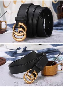 2019 Belt designer belts luxury belts brand Gbuckle belt top quality mens leather belts for men brand men women belt