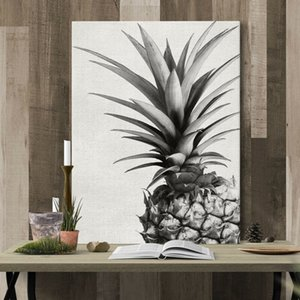1PC Bedroom Wall Art Decor Canvas Painting Pineapple Picture Unframed Ready Hang