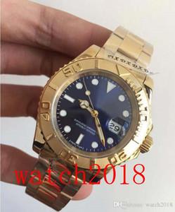 4 Стиль Роскошные Часы 16628 18K желтого золота Браслет из нержавеющей стали 40мм Автоматические моды Мужские часы Наручные часы