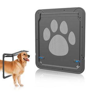 Porta de Tela Dog Pet Door Flap Interior Cat Dog
