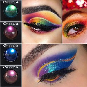 Profession  Salon Magical Chameleon Glitter Palette Shadow Monochrome Eye Shadow Unique Glitter Eye Cosmetics Matte LD