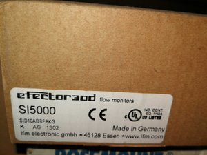 1-Year Warranty ! IFM Flow Monitor SI5000 New In Box