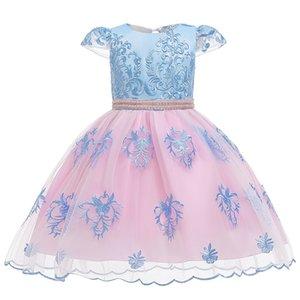 Selling Girls Dress Elegant New Year Princess Party Dress Wedding Gown Kids Dresses for Girls Birthday Party Vestido Wear