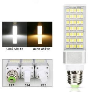 E27 G23 G24 LED 램프 스포트 라이트 9W 12W 13W 15W 16W LED 옥수수 전구 스포트 라이트 SMD5050 LED 조명 수평 플러그 조명