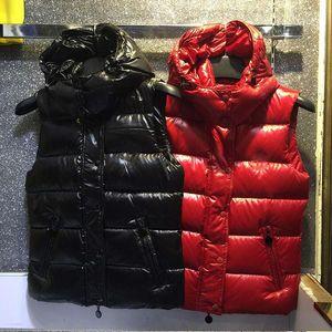 La manera caliente de la mujer de la marca CHAQUETA ABAJO abrigo corto MAYA LA OUTWEAR abajo mujer chaqueta de invierno chaleco de capas de la chaqueta S-3XL