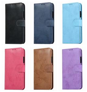 Retro PU billetera de cuero para Iphone 11 Pro Max para Samsung Nota 10 Pro desmontable extraíble 2 en 1 titular caso de la cubierta del tirón de la bolsa de tarjetas de identificación