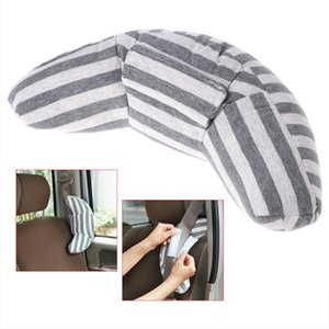Children Car Seat Headrest Pad Shoulder Support Cushion Cotton Soft Sleep Pillow Car Seatbelt Pillow cart accessories