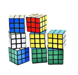 Cubo del rompecabezas al por mayor de 3 cm de tamaño pequeño juguetes Mini magia de Rubik Cubo de Rubik Juego Juego de aprendizaje para la Educación Cubo de Rubik buen regalo del juguete de la descompresión