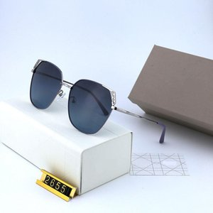 Luxury Sunglasses Women Designer Popular Fashion Metal Frame Summer Style Top Quality UV Protection Lens Come With Case