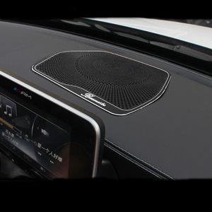 Car Center couverture haut-parleur Tableau de bord Console de protection Couvercle de finition pour Mercedes Benz Classe C W205 C180 C200 C260 GLC Classe x253 Accessoires