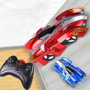 RC Car Wall-montado Racing Car Desporto Escalada 360 graus de rotação do conluio Brinquedos Mini gravidade Controle Remoto Carros Brinquedos para Crianças 1235