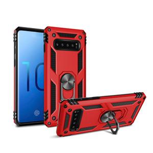 Híbrido Magnet Kickstand capa para Samsung Galaxy S10 Além disso S10e S20 Ultra S9 S8 Note9 A70 A50 A40 A10 A6 Nota 10 PLUS