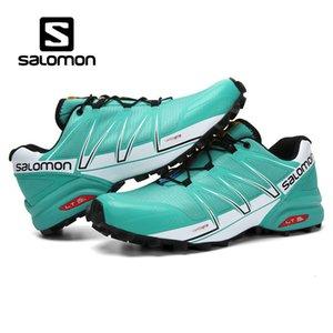 Zapatos para correr Pro Trail Solomen Speedcross Sense agradable para hombre de las zapatillas de deporte masculino atlético deporte Zapatos al aire libre zapatilla de deporte de envío de la gota