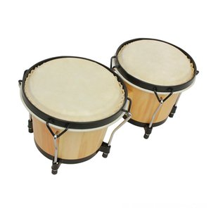 Wooden African Bongos Drum Percussion Musical Drum Accessories & Accessories & Parts Instruments Early Learning Educational Toys for Percuss