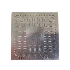 BGA stencils reballing molde de aço bola aquecimento solda directa para PS4 IC estação reball kit único ou completo
