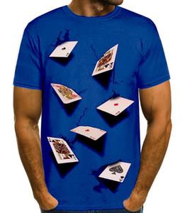 Poker Designer Hommes T-shirts d'été de la mode Casual Top élégant manches courtes T-shirts pour hommes d'été T-shirts