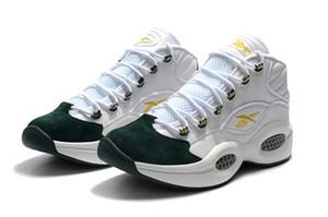 Venta caliente Zapatos de diseñador Allen Iverson Pregunta Mid Q1 Calzado casual Respuesta 1s Zoom Calzado deportivo para hombre Zapatillas de deporte de élite de lujo Tamaño 7-12