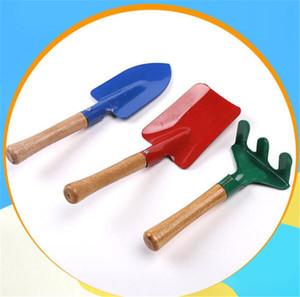 Kid Children Mini Garden Tools Set Trowel Rake Shovel three-piece Home Garden Beach Gardening Flowers and Fleshy Potting tools