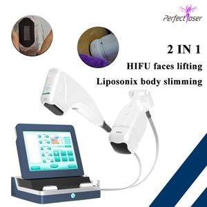 2020 hifu face lifting ultrasonic fat removal machine wrinkle removal liposonix ultrasound body slimming 2 IN 1 machine